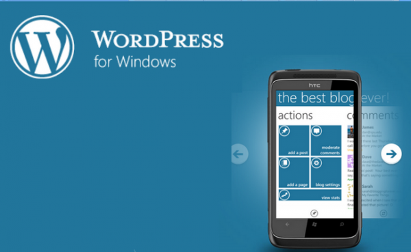 WordPress – Die Windows Phone App