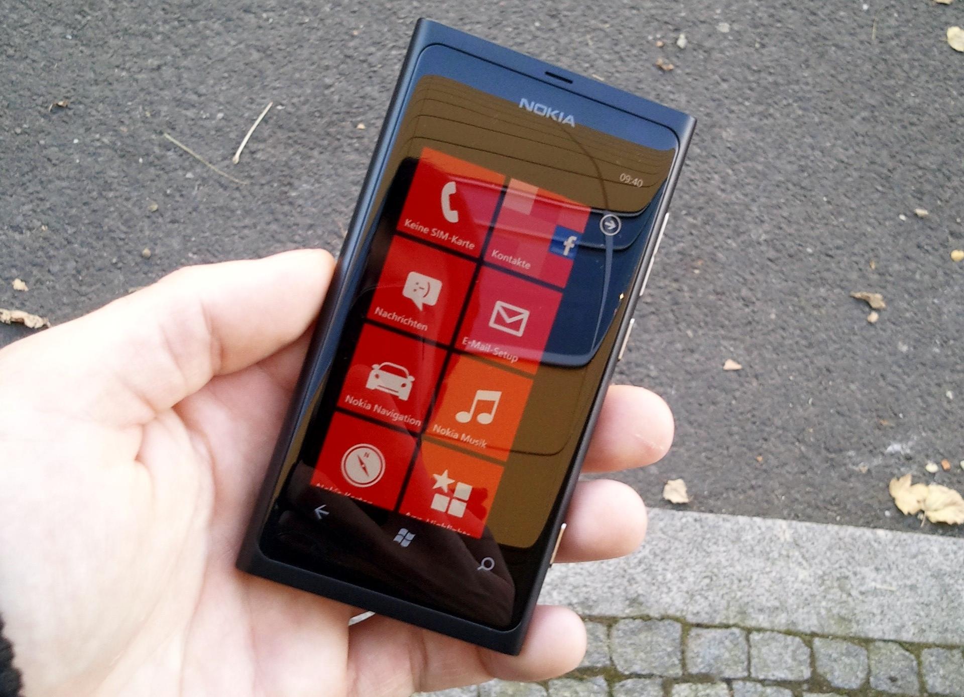 Eine Woche mit dem Nokia Lumia 800 – Test (Vergleich mit Samsung Omnia 7)