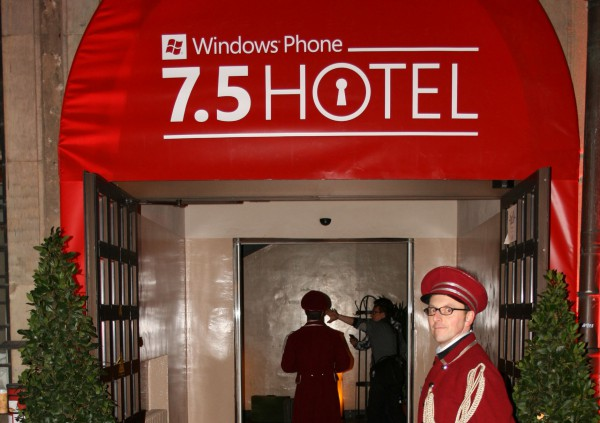 Windows Phone 7.5 Hotel – Es spukt im Hotel