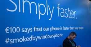 Windows Phone Werbung MWC