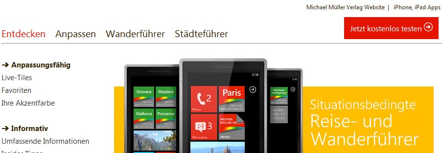 Verlosung: 5x digitaler Stadtführer fürs Windows Phone vom Michael Müller Verlag