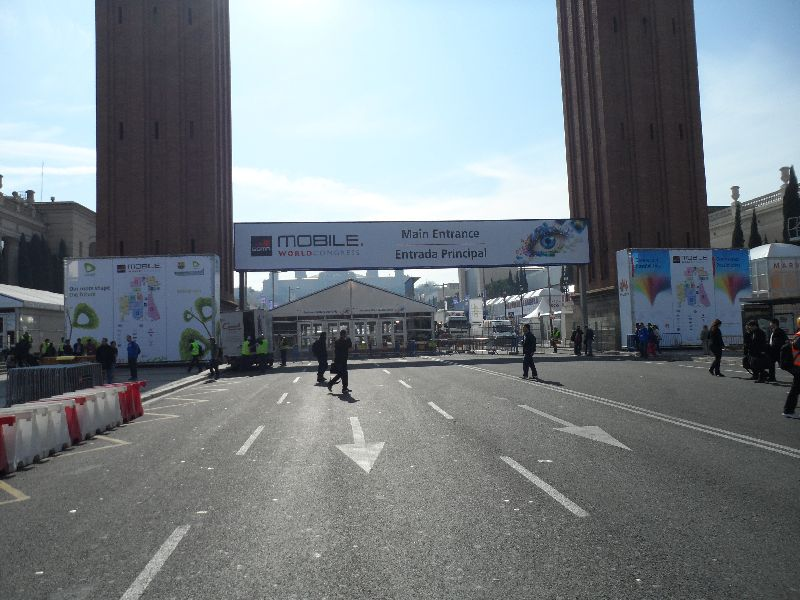 Mobile World Congress 2012 in Barcelona – die ersten Tage