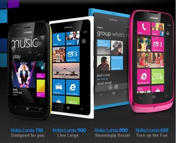 Nokia 610 kommt mit Tethering, 710 und 800 bekommen bald ein Update