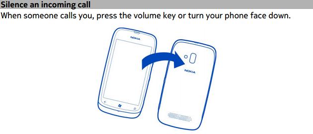 Nokia-Lumia-610-flip-to-mute