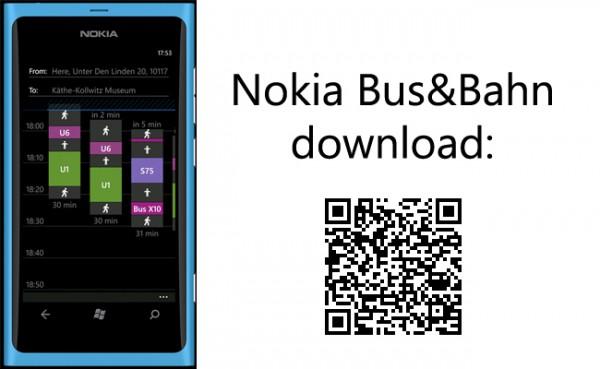 Nokia Bus und Bahn im Marketplace