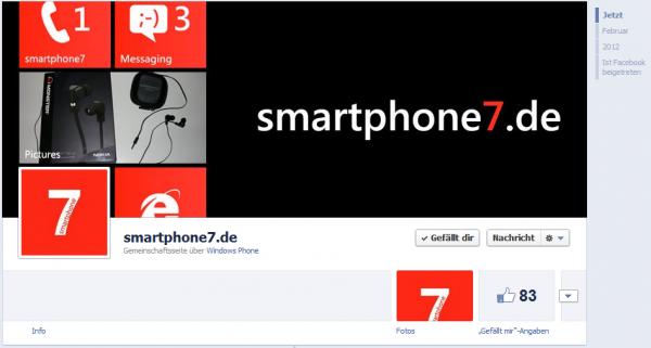 Personalisiere Facebook: Kacheln für den Header der neue Chronik