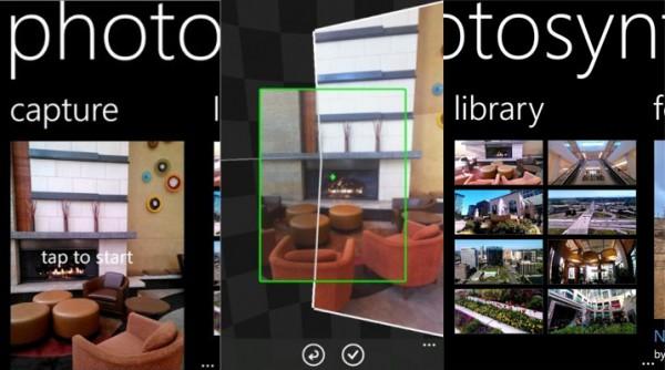 Photosynth fürs Windows Phone ab jetzt im Marketplace