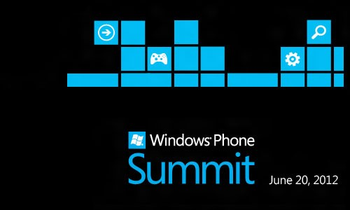 Windows Phone Summit im 20. Juni 2012 im Live Stream