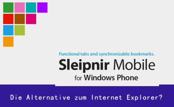 Sleipnir Mobile – Features die man sich vom IE wünscht