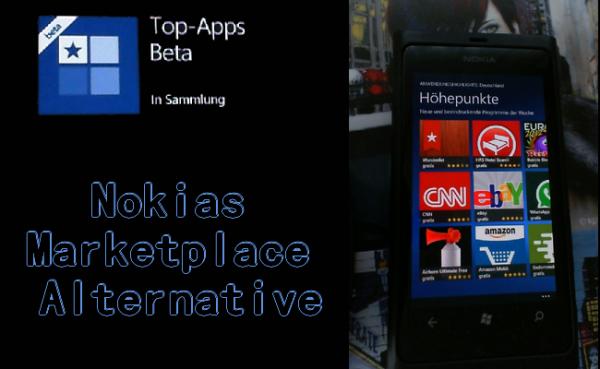 Top-Apps (Beta) für Lumia-Smartphones erschienen