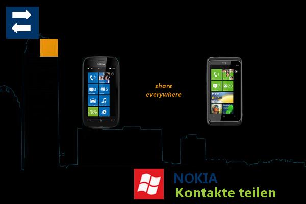 Nokia veröffentlicht Kontakte Teilen App