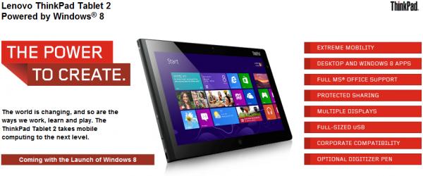 Lenovo Thinkpad Tablet 2 im HandsOn auf der IFA 2012