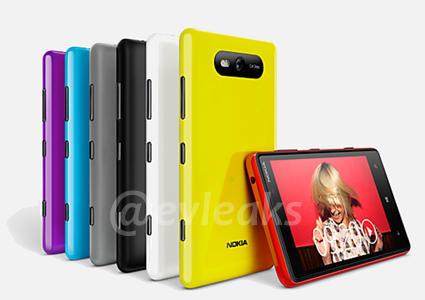 Gerücht: Nokia Lumia 820 mit 4,3 Zoll Display geleakt