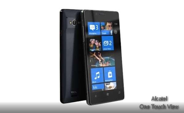 Alcatel bringt Windows Phone One Touch View