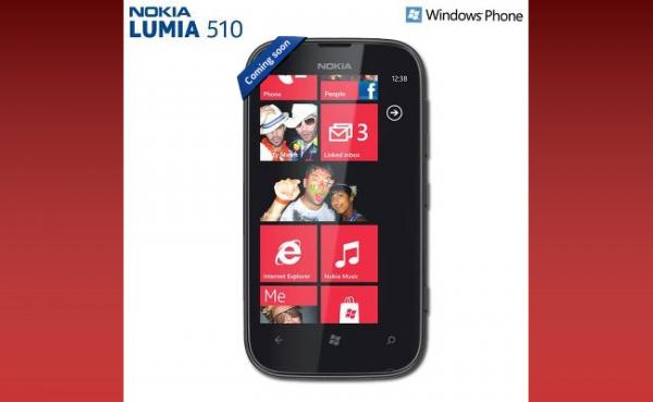 Lumia 510 durch Nokia offiziell bestätigt