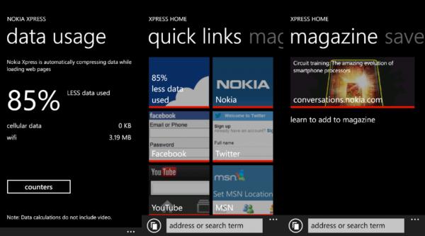 Nokia bringt Cloud Browser Xpress fürs Lumia (Beta)