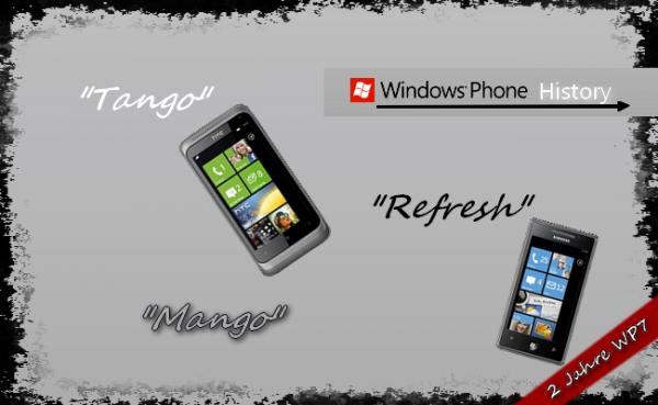 Windows Phone 7 im Wandel der Zeit [Special]