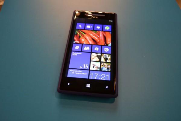 Erstes Update für HTC 8X verfügbar