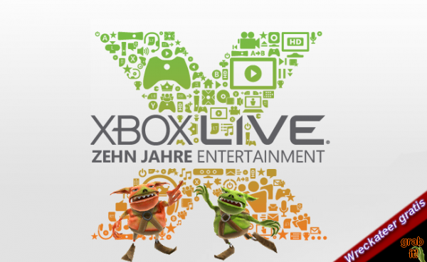 Xbox Live &#8211; Ein Jahrzehnt Online Unterhaltung