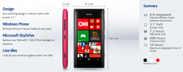 Nokia Lumia 505 gesichtet &#8211; Einsteiger Smartphone mit Windows Phone (8) 7.8 [Update]