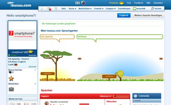 busuu.com: Virtuelle Sprachreise + Gewinnspiel