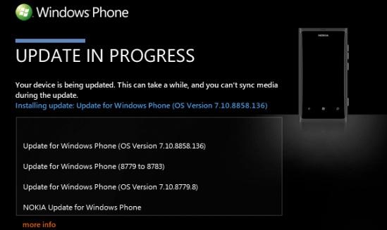 Lumia 800 Update