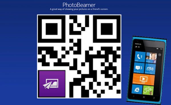 Nokia PhotoBeamer App für Windows Phone