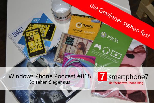 Podcast #18: So sehen Sieger aus und die Gewinner unseres Gewinnspiels