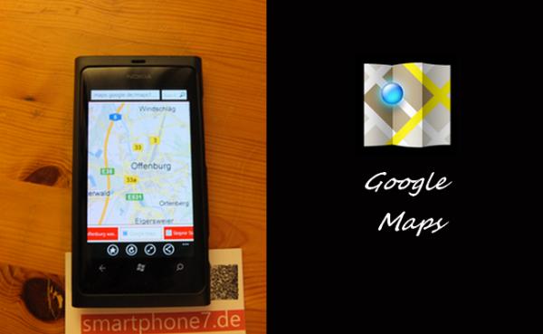 Walkthrough/Glitch: Google Maps unter Windows Phone wieder verfügbar machen