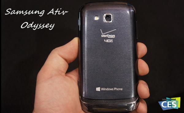 Samsung stellt neues Windows Phone 8 vor: Ativ Odyssey