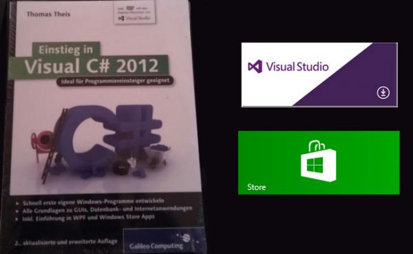 Buch-Review: Einstieg in Visual C# 2012 inkl. Leseprobe