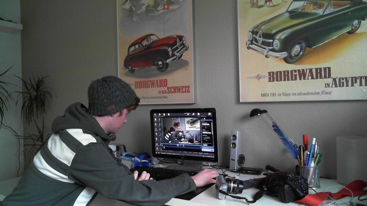 Test Aufnahme Lifecam Studio