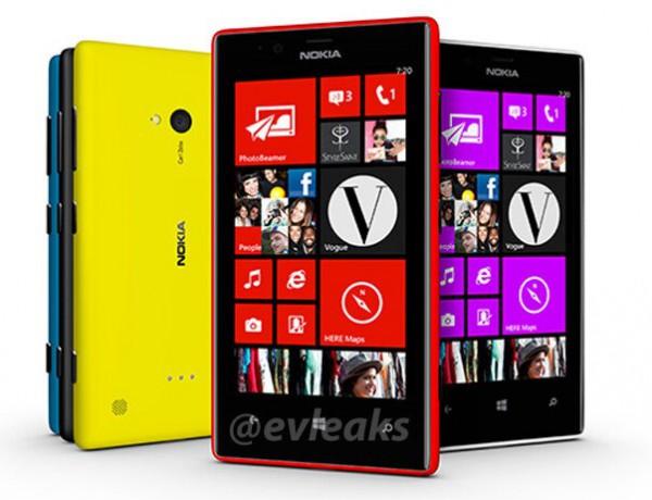 Nokia 720 und 520 zeigen sich auf ersten Bildern