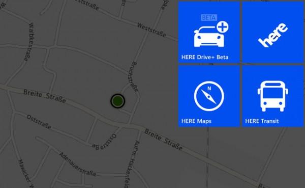 Nokia HERE – Die neuen Location-Dienste im Überblick