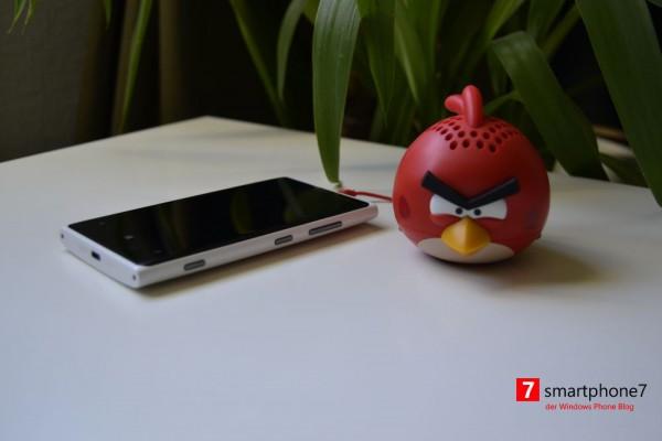 Angry Birds Mini Speaker von gear4 im Unboxing – Bilder + Video