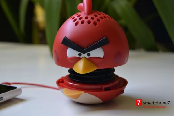 Angry Birds Mini Speaker – der Gewinner steht fest