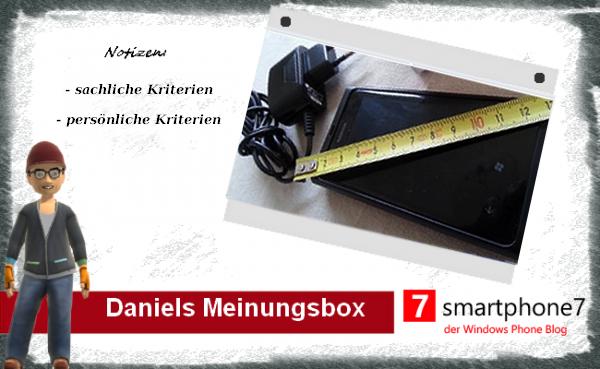 Daniels Meinungsbox: Smarte Phones?