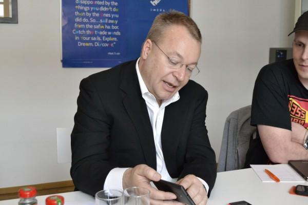 Im Gespräch mit Stephen Elop